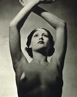 Original Vintage Art Deco Female Nude Everard Photo Gravure Print 30s34