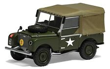"Corgi Vanguards VA11113 - 1/43 SCALE LAND ROVER SERIES 1 80"" 1ST BATTALION"