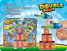 Shooter Schaumstoff Soft • Pistolen für Kinder • Spielset • Zielschießen • NEU