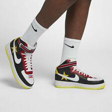Mens Nike Air Force 1 HI/RT AQ3366-600 Gym Red/Opti Yellow NEW Size 11.5