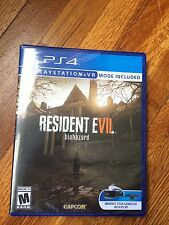 Resident Evil 7 Biohazard (Sony PlayStation 4, 2017) *Brand New, never opened*