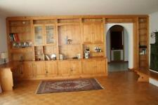 Schrankwand Regalwand Schreibtisch Massivholz Kiefer Fichte 4,70x0,53x2,63 m