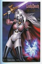 Lady Death Icon #1 NAUGHTY Variant Edition Dawn McTeigue Cover Signed Pulido /69