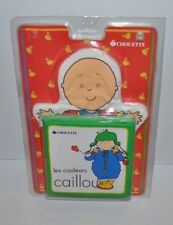 CAILLOU BATH Hand Puppet & Baby Book SEALED Chouette