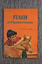 FLASH of Phantom Canyon Agnes Ranney Crisp Scholastic Paperback 1963