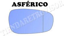 PEUGEOT 607 CRISTAL RETROVISOR DERECHO ASFERICO AZUL ESPELHO MIROIR GLACE