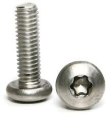 "Stainless Steel Torx Pan Head Machine Screw 1/4""-20 x 1"" Qty-25"