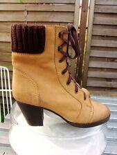 Görtz Boyfriend Schnürschuhe Boots Desert Stiefeletten Loafers EchtLeder 39 topz