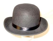 Fun World Black Classic Brim Derby Hat 12in NIP
