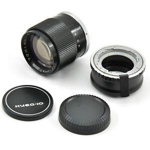 Kiev-10/15 Automat - Fuji FX Adapter w/ *Jupiter-9 85mm F2 Lens AS A GIFT*!