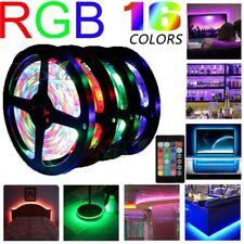 5V USB LED Strip Lights TV Back Light 5050 RGB Color Changing with 24Key Remote