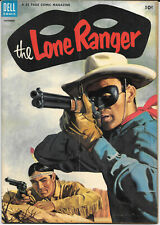 The Lone Ranger #66 1953 FN+ Dell Comics Bag/Board