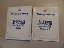 Werkstatthandbuch Nissan Pick-Up King-Cap  Modellreihe 720 Benziner