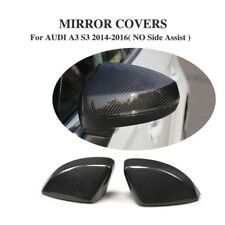 Audi 8V A3 S3 RS3 Genuine Carbon Fibre Mirror Full Replacement Covers
