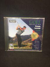 (Cm) percept golf magazine private lesson cd rom; Free Us Shipping