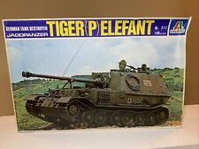 Italeri, Tiger (P) Elephant, Jagdpanzer, 1:35, #211, Tank Destroyer