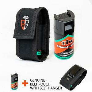 Self Defence TIW FARB gel emergency spray with genuine belt pouch with hanger