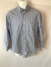 Men's Polo Ralph Lauren Blue Long Sleeved Button Down Shirt - Sz 15 1/2 - 33