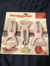 New KitchenAid Peeler Set - Pink KC479OHA5A