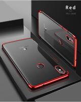 Per Xiaomi Mi A2 Lite  Cover Custodia TPU Silicone Ultra Sottile Protettiva RED