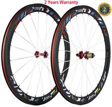 Carbon Wheels 50mm 23mm Road Bike Novatec 271 Hub Carbon Wheelset 700C Basalt