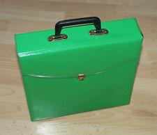 LP Koffer Grün  für ca 20 LP's
