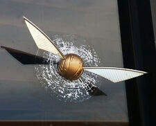 Golden Snitch Window Splat