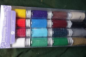 Hampton Embossing Powder Set Basic Colors