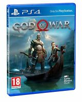GOD OF WAR PS4 FISICO CD EN ESPAÑOL CASTELLANO NUEVO PRECINTADO 2018