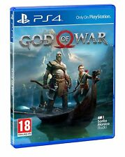 GOD OF WAR PS4 FISICO CD EN ESPAÑOL CASTELLANO NUEVO PRECINTADO 2018