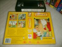 RUPERT & THE PEPPER ROSE (+ 7 Other Story's) - 1997 Rare OZ  NZ CEL - VHS Issue