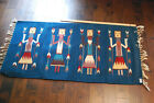 Navajo Native American Yei Style RUG WOOL - Hand Knotted Navajo Trading Company