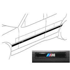 Original BMW M Stossleisten 3er E36: Cabrio / Coupé / M3 Türleisten Zierleisten