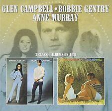 BOBBIE GENTRY and GLEN CAMPBELLANNE MURRAY [CD]