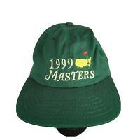 Vintage 1999 The Masters Golf Tournament Mens Strapback Baseball Hat Cap NWT OS