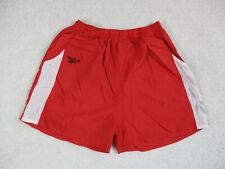 VINTAGE Reebok Shorts Adult Extra Large Red Spell Out Lightweight Mens 90s