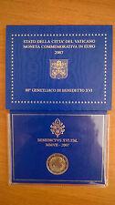 Coffret BU 2 Euro Vatican 2007 Genetliaco di Benedetto XVI Vaticano Neuf