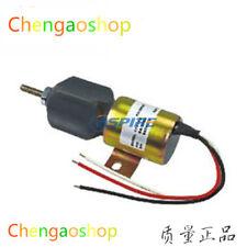 1PC stop solenoid valve 1751ES-12E2ULB1 12V for Woodward Diesel Engine #Q6650 ZX