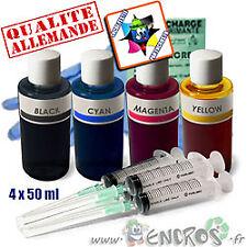 Recharge Kit Encre 4x50ML Couleurs universelles pour EPSON