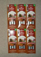 Lot 24pc Scentsicles Spiced Pine Cones Scented Christmas Tree Ornaments 6pk 4ea