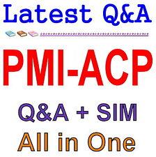 PMI Agile Certified Practitioner PMI-ACP Exam Q&A PDF+SIM