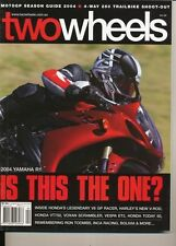 Two Wheels Magazine April 2004 YZF-R1 KLX250R DRZ250 XR250L TT-R250 V-Rod VT750C