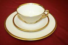 Lenox TUXEDO  Plate/Cup/Saucer Lunch Set - 24 Pieces