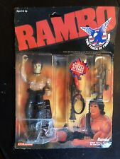 hot toys rambo Unopened Package, 1985-86 RARE!