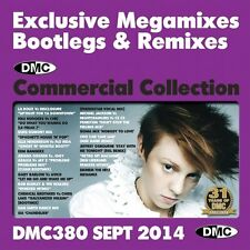 Dmc commercial collection 380 club hits mixes & deux trackers dj music cd