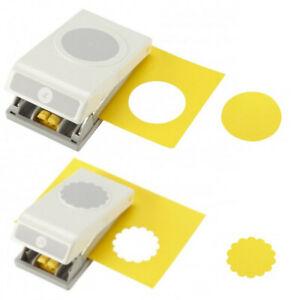 EK Tools Memory Keepers Motivstanzer Kreis Größen 0,3 cm bis 6,4 cm Kreisstanzer