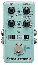TC Electronic Quintessence Harmonizer Dual-Voiced Intelligent Harmonizer 2DAY!