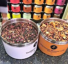 🍊 NEW!! 6OZ TEAVANA YOUTHBERRY & WILD ORANGE BLOSSOM BLENDED TEA SEALED BAG! 🍓
