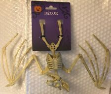 Bat Skeleton, Dead Flying Animal Bones, Halloween Wall Hanging Party Décor Props
