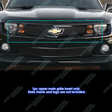 For 2010-2013 Chevy Camaro Short W/Logo LT/LS/RS/SS Black Mesh Grille